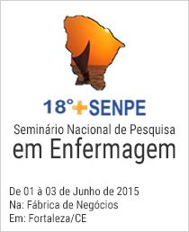 SENPE -18ª Seminário Nacional de Pesquisa em Enfermagem