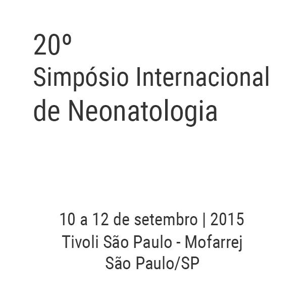 20º Simpósio Internacional de Neonatologia