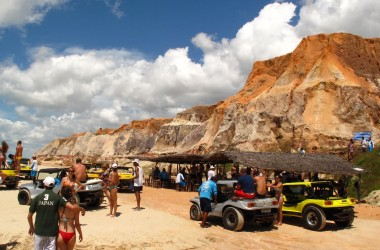 Morro Branco and Praia das Fontes Beaches