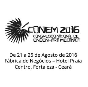 IX Congresso Nacional de Engenharia Mecânica - CONEM 2016