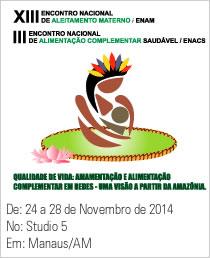 XIII Encontro Nacional de Aleitamento Materno - ENAM