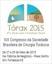 XIX Congresso da Sociedade Brasileira de Cirurgia Torácica