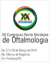XX Congresso Norte Nordeste de Oftalmologia