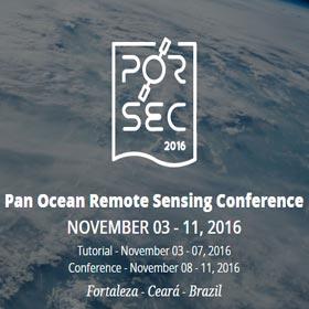 PORSEC 2016 - Pan Ocean Remote Sensing Conference