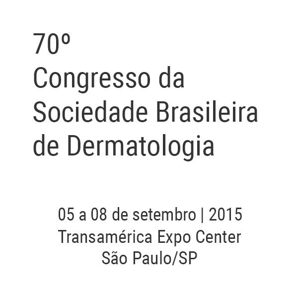 70º Congresso da Sociedade Brasileira de Dermatologia