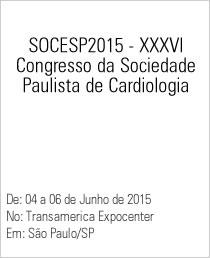 SOCESP2015 XXXVI - Congresso da Sociedade Paulista