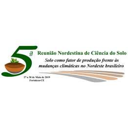 5º Reunião Nordestina de Ciência do Solo - 2019