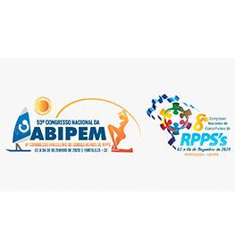 53º CONGRESSO NACIONAL DA ABIPEM -  8º CONGRESSO BRASILEIRO DE CONSELHEIROS DE RPPS