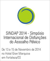 SINDAP 2014 - Simpósio Internacional de Disfunções do Assoalho Pélvico