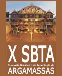 X SBTA - Simpósio Brasileiro de Tecnologia de Argamassas