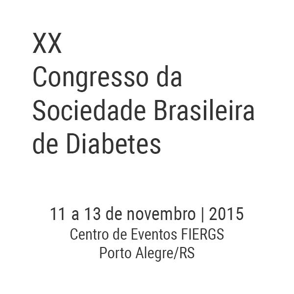 XX Congresso da Sociedade Brasileira de Diabetes
