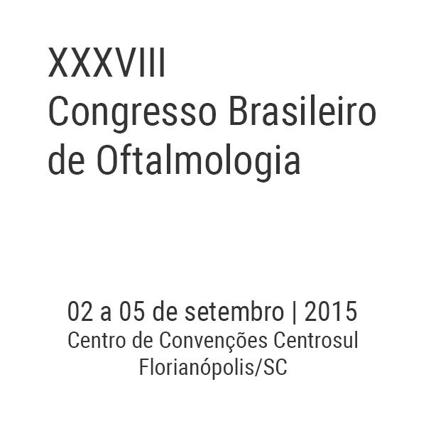 XXXVIII Congresso Brasileiro de Oftalmologia